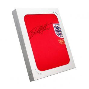 Sir Geoff Hurst Signed England 1966 World Cup Shirt. Gift Box