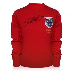 Sir Geoff Hurst Signed England 1966 World Cup Shirt