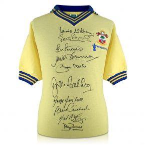 Southampton 1976 FA Cup Winners Signed Shirt In Gift Box