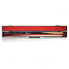 Stephen Hendry & Jimmy White Dual Signed Snooker Cue. In Display Case