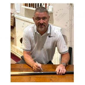 Stephen Hendry Signed Snooker Cue