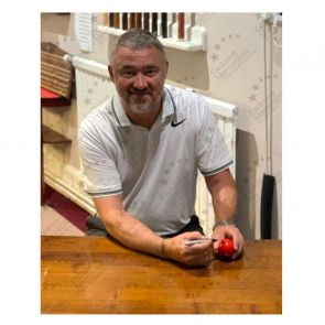 Stephen Hendry Signed Red Snooker Ball
