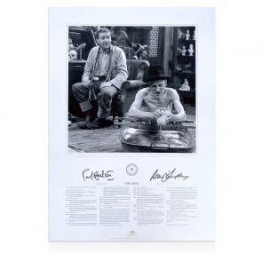Ray Galton And Alan Simpson Signed Steptoe And Son Print: The Bath