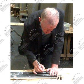 Steve Davis Signed Snooker Cue