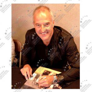 Steve Bull Signed Wolves Photo: Goal Celebration
