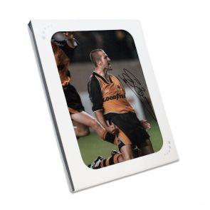 Signed Steve Bull Photo In Gift Box