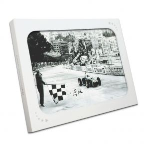 Stirling Moss Signed Monaco Grand Prix Photo In Gift Box