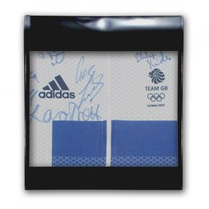 Team GB Signed London 2012 Olympics Cycling Jersey