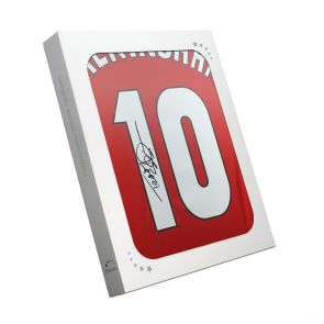 Teddy Sheringham Signed Man United Shirt In Gift Box