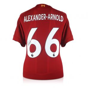 Trent Alexander-Arnold Signed Liverpool 2019-20 Shirt