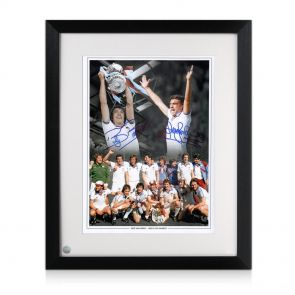 Framed Sir Trevor Brooking & Billy Bonds Signed Photo