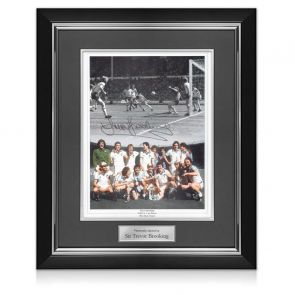 Framed Sir Trevor Brooking Signed Photo