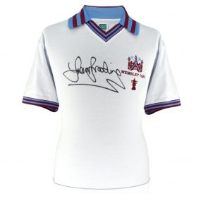 Signed Trevor Brooking Shirt