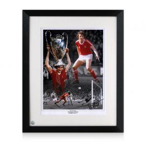 Trevor Francis Signed Nottingham Forest Photo Framed