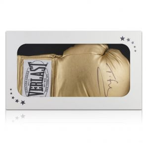 Tyson Fury Signed Boxing Glove Gift Box