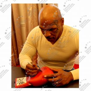 Mike Tyson Signed Cleto Reyes Boxing Glove