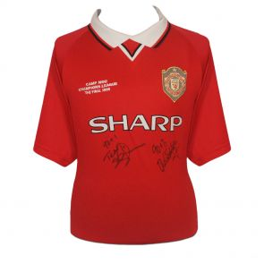 Manchester United Signed Shirt