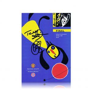 1999 Champions League Final Programme