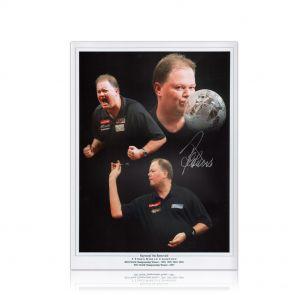 Raymond van Barneveld Signed Darts Photo. In Gift Box