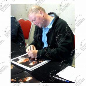 Raymond van Barneveld Signed Darts Photo