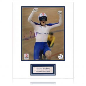 Signed Victoria Pendleton Photo