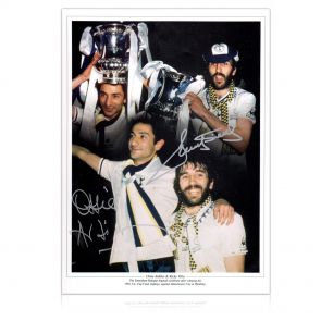 Ricky Villa And Ossie Ardiles Double Signed Spurs Photograph In Gift Box