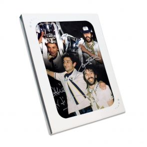 Ricky Villa And Ossie Ardiles Signed Spurs Photograph In Gift Box