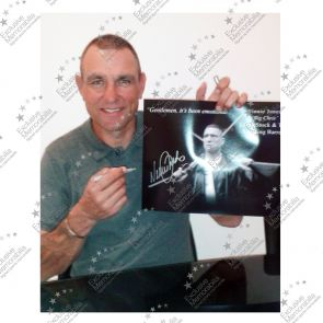 Vinnie Jones Signed Lock, Stock And Two Smoking Barrels Photograph