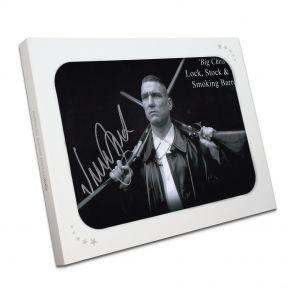 Vinnie Jones Signed Lock, Stock Photo In Gift Box