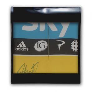 Bradley Wiggins Signed Tour De France 2012 Yellow Jersey