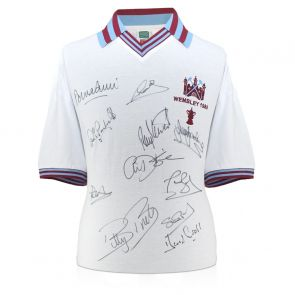 West Ham Signed Shirt