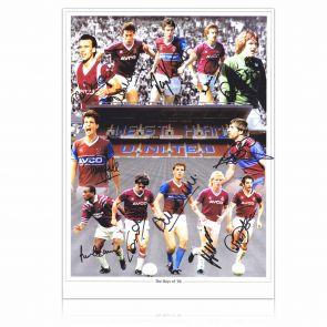 West Ham 1986 Photo