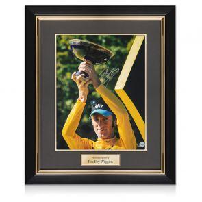Bradley Wiggins Signed Tour De France Photo