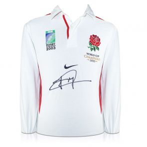 Jonny Wilkinson Signed Official England Rugby Shirt