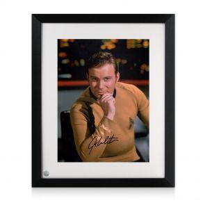 Framed William Shatner Signed Photo