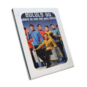 William Shatner Signed Photo In Gift Box