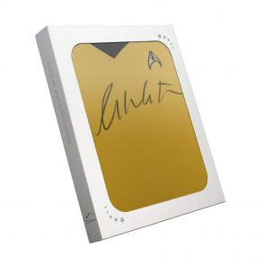William Shatner Signed Jersey In Gift Box