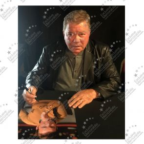 William Shatner Signed Star Trek Photo: The Captain