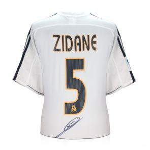 Zinedine Zidane Signed Real Madrid 2003-04 Football Shirt