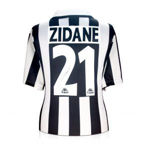 Zinedine Zidane Signed Juventus Shirt