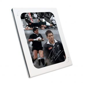 Zinzan Brooke Signed Photo In Gift Box
