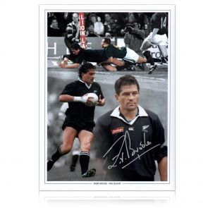 Zinzan Brooke Signed Photo