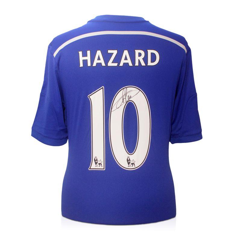 promo code 5e508 c8c8d Eden Hazard Signed Chelsea 2014-15 Premier League Shirt