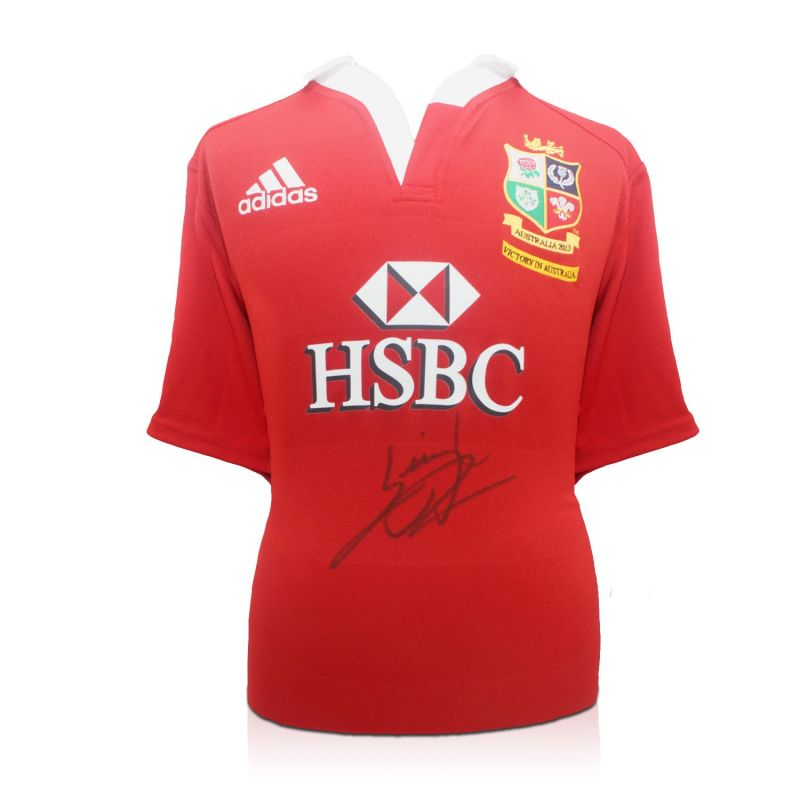 cbe9095b Leigh Halfpenny Signed British Lions Rugby Shirt