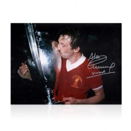 Alan Kennedy Signed Liverpool FC Photo: European Cup Winner