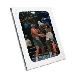 Anthony Joshua Signed Photo: The Klitschko Uppercut In Gift Box