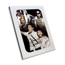 Ricky Villa And Ossie Ardiles Signed Tottenham Hotspur Photo. In Gift Box