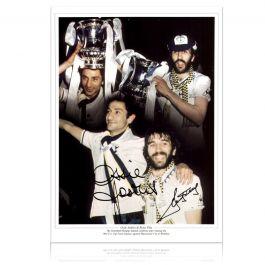 Ricky Villa And Ossie Ardiles Signed Tottenham Hotspur Photo