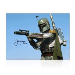 Boba Fett Signed Star Wars Photo: The Most Feared