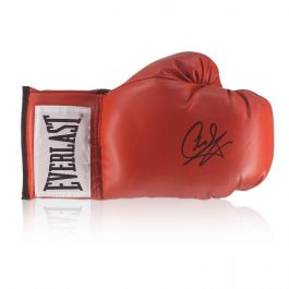 Carl Froch Signed Red Boxing Glove